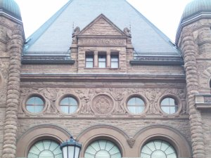 Queen's Park - Quite an impressive old building