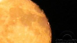 Orange Blood Moon July 5 2012 1