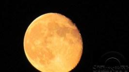 Orange Blood Moon July 5 2012 2
